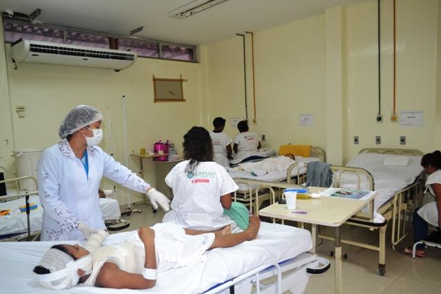 O Centro de Tratamento de Queimados do HE possui hoje 8 leitos