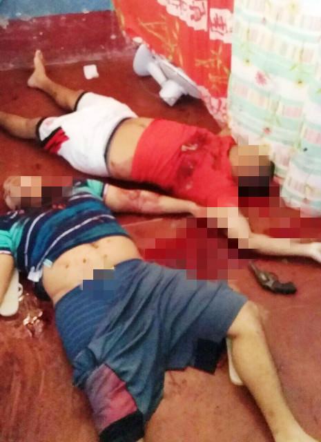 Ao lado dos corpos um revólver que pode ser de uma das vítimas