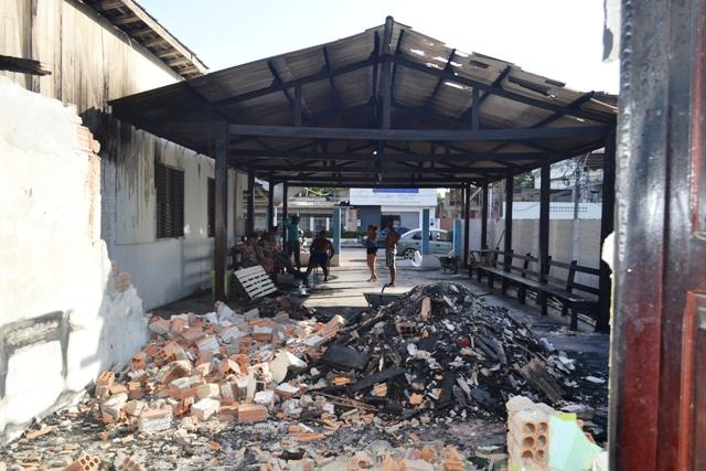 O espaço, que berço da cultura amapaense, ficou destruído. Fotos: André Silva