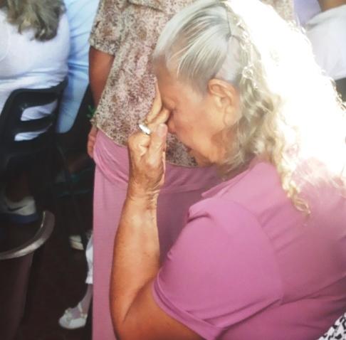"""Dona Maria de Lourdes: """"Não tem como não se emocionar"""""""