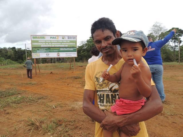João Raimundo, cadastrado para receber uma casa: esperança