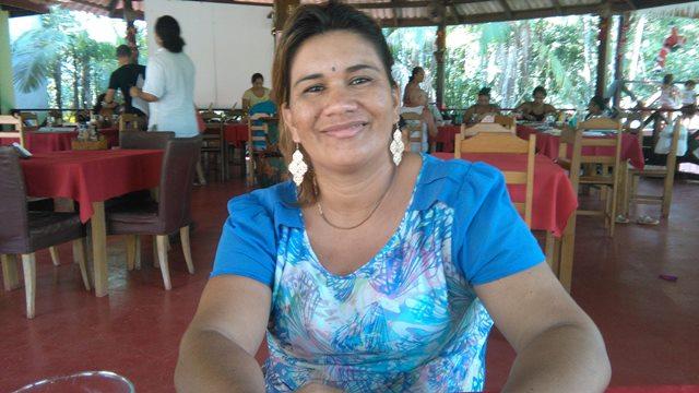 Lilma buscou capacitação no Sebrae e todos os anos participa de eventos de turismo
