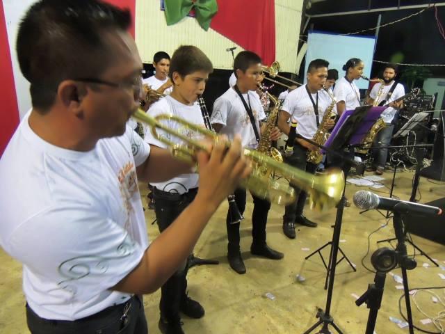 Orquestra do Corpo de Bombeiros. Fotos: Humberto Baía