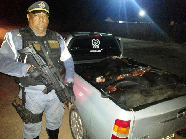 Tenente Oliveira deu voz de prisão após a tentativa de suborno. Fotos: Olho de Boto