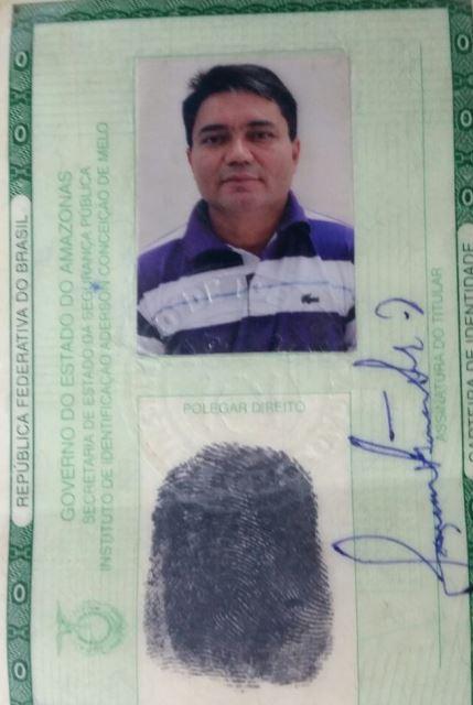 Japa foi preso com documentos falsos. Fotos cedidas pelo BRPM