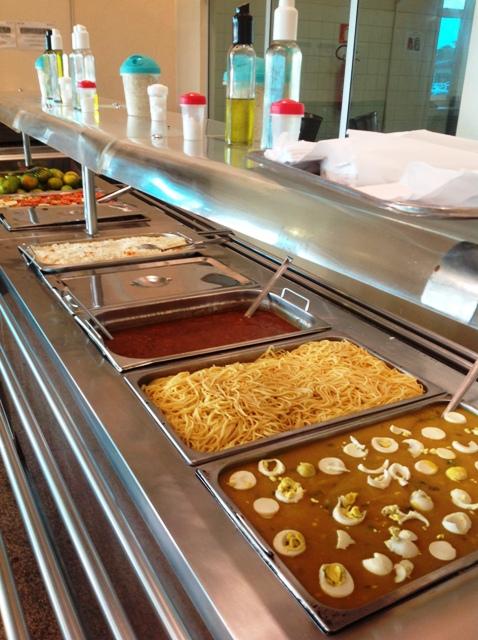 São servidas cerca de 1.500 refeições por dia