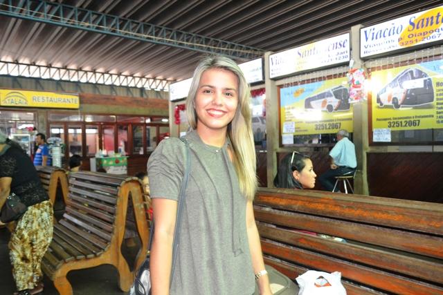 Sara Keisse: estou viajando um dia depois do previsto