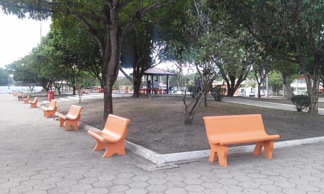 O local está recebendo serviços de pintura e limpeza. Fotos: Cássia Lima