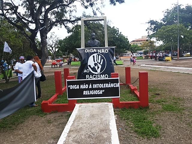 Busto do Barão do Rio Branco virou altar contra o preconceito