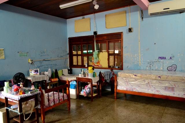 Berçário, local onde as internas com filhos pequenos e grávidas moram