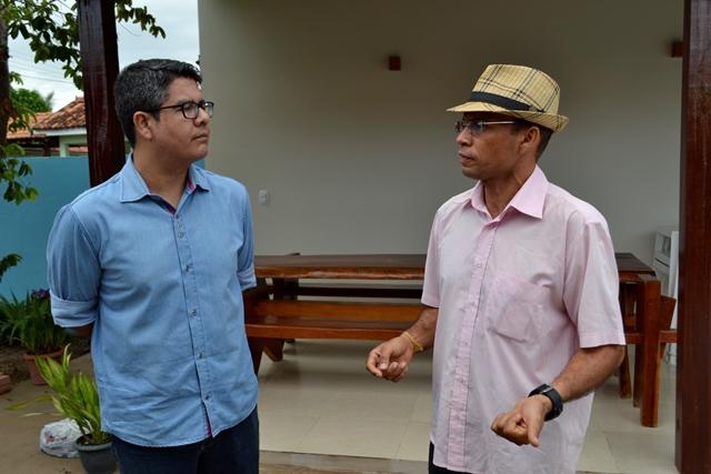 Sobre novos negócios em Oiapoque, o presidente aposta em transportes e turismo. Fotos: Humberto Baía