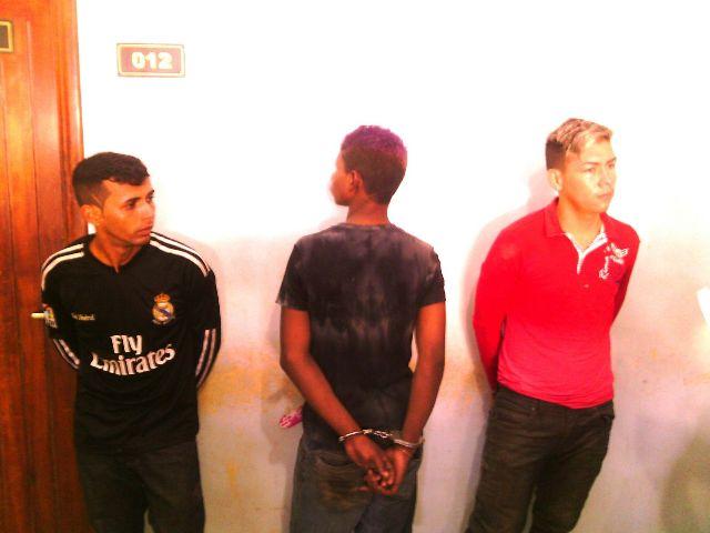Acusados foram levados para o Ciosp onde serão identificados