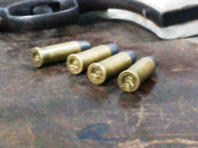 Quatro munições falharam. Fotos: Olho de Boto