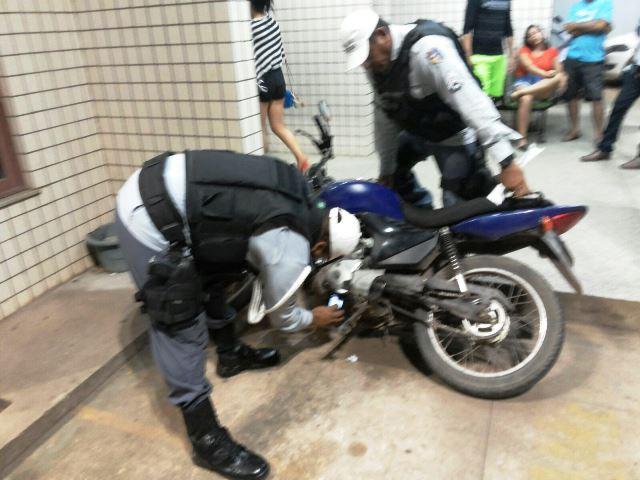 Polícia constatou que até o número do chassi era o mesmo. Fotos: Olho de Boto