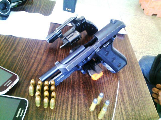 Arma estava à disposição da Justiça e foi parar nas mãos de criminosos
