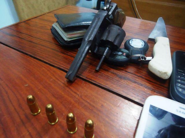 Arma usada pelos criminosos