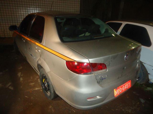 Táxi usado pelos criminosos estava alugado