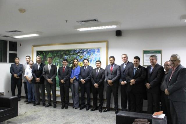 Representantes da Suframa e do Amapá em reunião no último dia 19. Foto: Arquivo