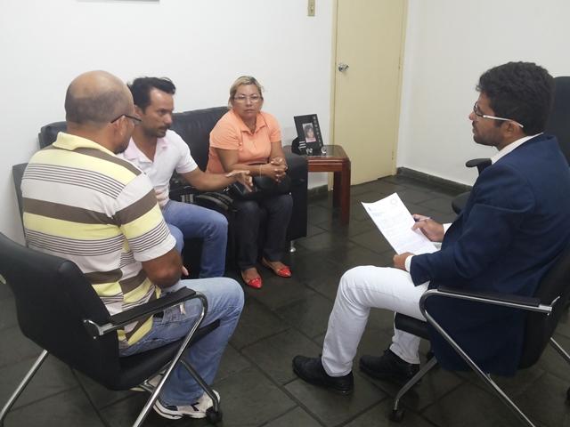 Procurador recebeu representantes do movimento