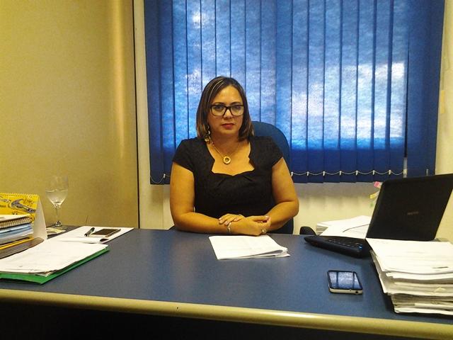 Secretária-adjunta de Inclusão Social, Patrícia Silva: responsabilidade pela averiguação é da Caixa Econômica. Foto: André Silva