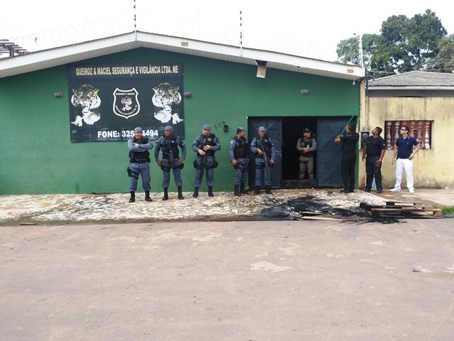 Polícia Militar foi chamada, mas não houve prisões. Fotos: André Silva