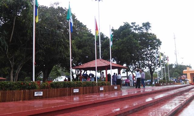 A Praça da Bandeira foi completamente revitalizada: agora é manter