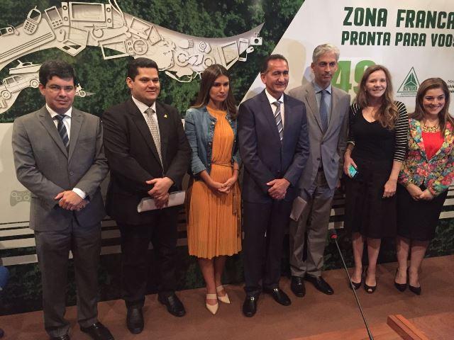 Representantes do Amapá e da Suframa: luta contra interesses contrários à Zona Franca Verde