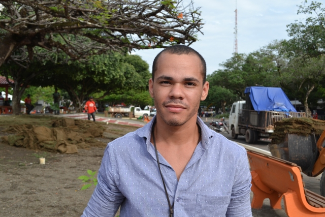 """Hugo Patrique, 22 anos, autônomo """"Precisamos de mais uma maternidade. Na zona norte de preferência. O Mãe Luzia está com sua capacidade esgotada há muito tempo"""""""