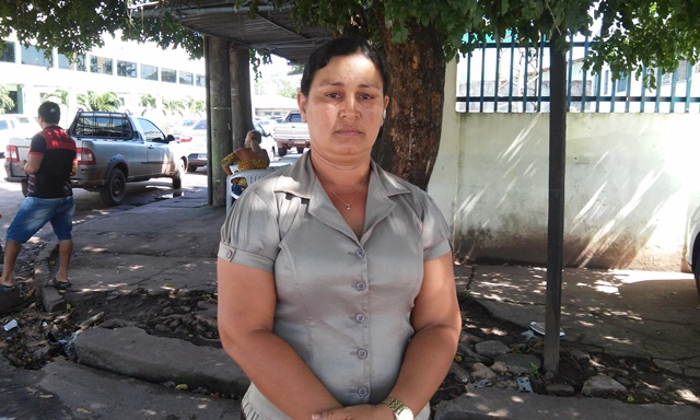 Márcia Cristina, irmã da vítima