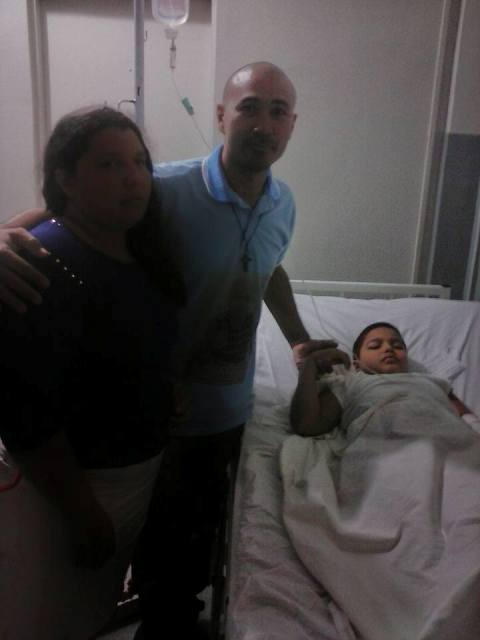 O pequeno Moisés foi o caso mais recente de leucemia no Amapá. Fotos: ONG Carlos Daniel