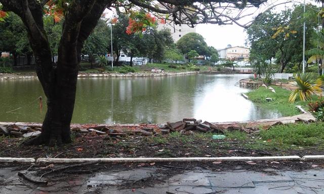 De acordo com o planejamento, as pedalinhos estarão de volta no lago. Fotos: Cássia Lima