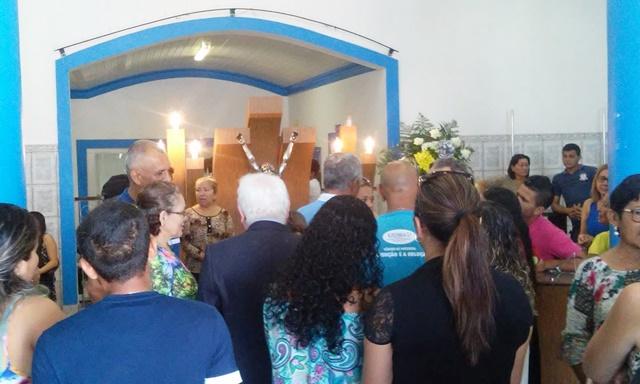Velório de Frank reuniu muitos parentes em Macapá. Fotos: Cássia Lima