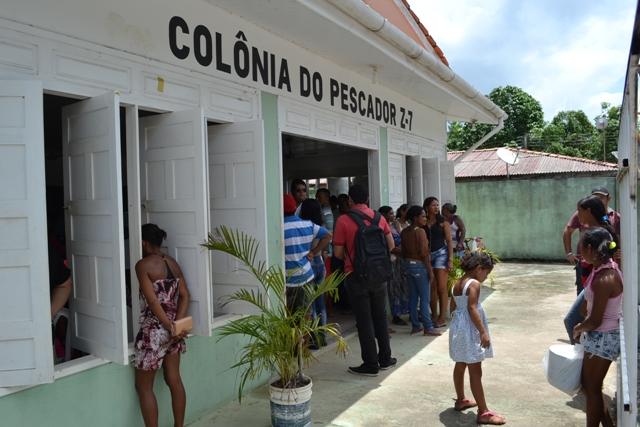 Reunião ocorreu na sede da Colônia de Pescadores. Próximas reuniões ocorrerão em outras comunidades. Fotos: Ângelo Percy