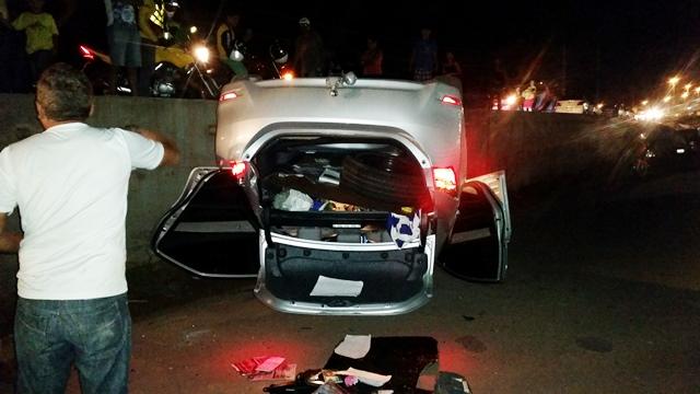 Moradores relataram que vários acidentes ocorreram no local