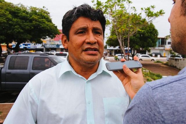 Disney Silva: precisamos de autorização do Iphan. Fotos: Ruan Alves/Secom-Gea