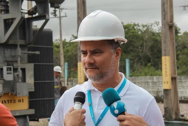 Luiz Eugênio Machado, diretor de Operações da CEA: problemas de acesso na subestação antiga