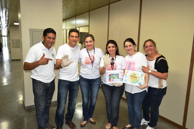 Servidores receberam certificados de que limparam seus locais de trabalho. Fotos: André Silva
