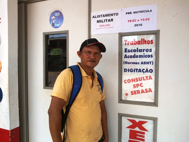 """Adésio Ramos Tenório: """"Não é todo dia que a gente tem dinheiro"""""""