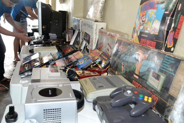 Coleção tem mais de 50 consoles