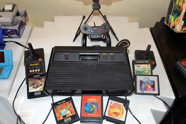 O clássico Atari e seus jogos