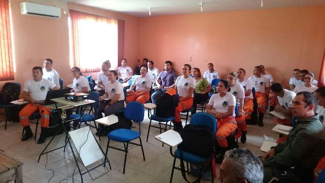 Médicos e profissionais de enfermagem da PM, Samu e Corpo de Bombeiros fazem parte da turma. Fotos: Divulgação