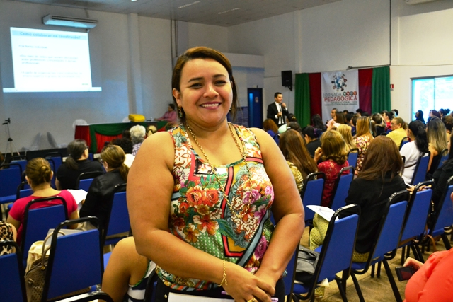 Sara Medeiros, coordenadora de Educação Especial: adaptações para atender melhor