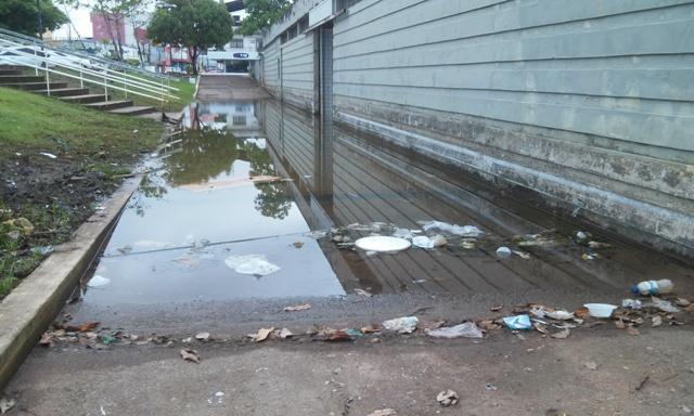 Lixo jogado pelos próprios visitantes piora cenário. Fotos: Cássia Lima