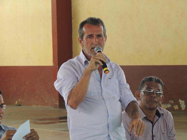 Miguel Caetano, atual prefeito. Fotos: Humberto Baía e arquivo pessoal