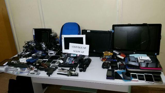 Delegado disse que todos os celulares serão recuperados