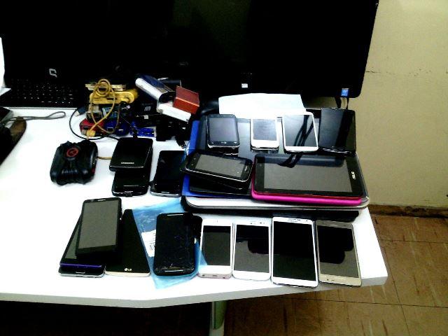 Técnico conseguia alterar os imeis dos smartphones para habilitá-los