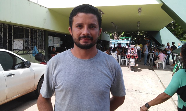 Ismael Cardoso, do Sindsaúde: retroativo é só uma pauta