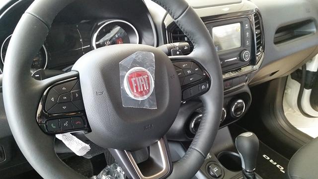 Detalhe na versão mais básica do carro