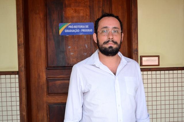 Pró-reitor de Graduação, Vinicius Maione. Foto: André Silva