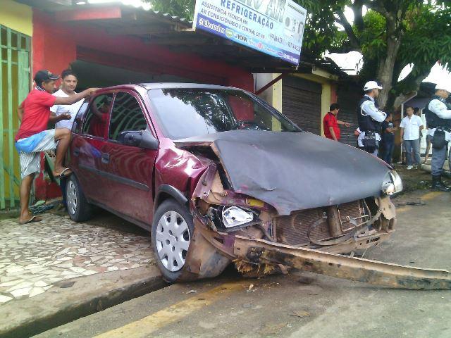 Aguinaldo informou que comprou o carro recentemente e se comprometeu em pagar os prejuízos da empresa